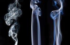 Rastros del humo Imagen de archivo libre de regalías