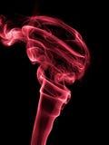Rastros del humo del incienso Fotos de archivo libres de regalías