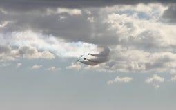 Rastros del jet Imagen de archivo