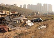Rastros urbanos de la transformación Fotografía de archivo