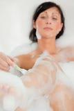 Rasurfahrwerkbeinfrau Lizenzfreie Stockbilder