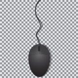 Ratón aislado en fondo transparente Imagen de archivo