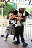 Ratón de Mickey Mouse y de Minnie. Imagen de archivo libre de regalías