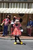 Ratón de Minnie en Disneylandya Fotos de archivo