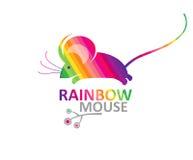 Ratón del arco iris Fotografía de archivo libre de regalías
