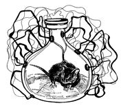 Ratón del laboratorio libre illustration