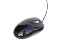 Ratón del ordenador aislado en el backgorund blanco Foto de archivo