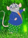 ratón en el bosque Imagenes de archivo