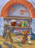 Ratón en el sótano Fotografía de archivo