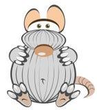 Ratón gordo ilustración del vector