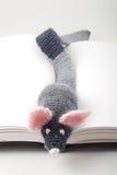 Ratón hecho punto Fotografía de archivo libre de regalías