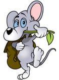 Ratón que camina Fotografía de archivo