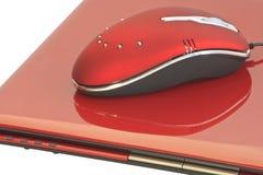 Ratón rojo Fotos de archivo libres de regalías
