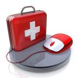 Ratón y primeros auxilios libre illustration