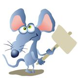Rat. Chinese zodiac - illustration of chinese traditional birthday animal Royalty Free Stock Photography