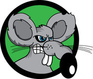 Rat illustration de vecteur