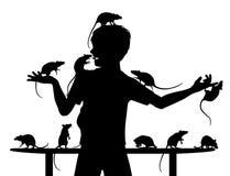 Rat boy Royalty Free Stock Photography