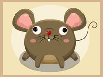 Rat Cartoon. Funny cartoon and vector animal characters Stock Photography