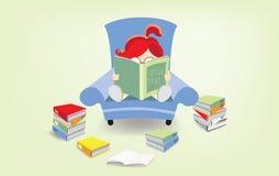 Rat de bibliothèque Photographie stock
