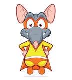 Rat de super héros Images libres de droits