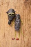 Rat gjorde av potatisar Royaltyfri Fotografi