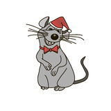 Rat. This image is a  illustration and can be scaled to any size without loss of resolution Royalty Free Stock Images