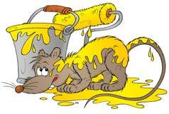 Rat jaune Photos stock