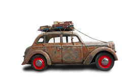Rat Look Style car. Old Сar in the Rat Look Style Stock Images