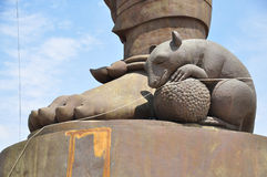 Rat of Lord Ganesha Royalty Free Stock Image