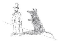 Rat man Royalty Free Stock Photo