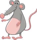 Rat or mouse cartoon animal Stock Photos