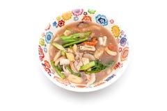 Rat na an Thais dish Stock Photography