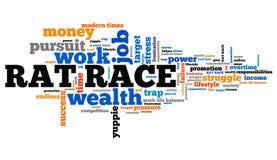 Rat race Royalty Free Stock Image