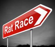 Rat race concept. Royalty Free Stock Photo