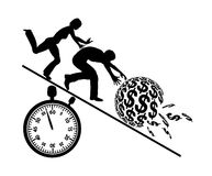 Rat Race for Money Royalty Free Stock Image