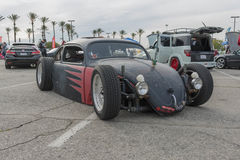 Rat Rod Beetle on display. Irwindale, USA - March 4, 2017: Rat Rod Beetle on display during 742 Race Wars at the Irwindale Speedway Royalty Free Stock Images