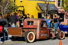 Rat Rod, Charleston du nord, Sc de vintage Images stock