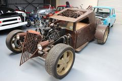Rat rod spider. Rat rod project showroom Royalty Free Stock Photography