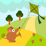 Rat's kite Stock Images
