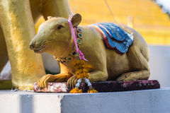Rat satatue thai in temple Royalty Free Stock Photography