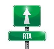 Rat street sign illustration design Stock Photo