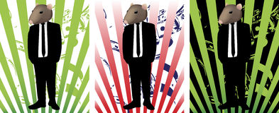 Rat in Suit Royalty Free Stock Photos