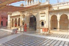 Free Rat Temple Entrance Deshoke India Stock Image - 48177281