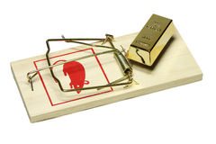 Rat trap Stock Photography