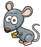 Rat. Vector illustration of cartoon rat Royalty Free Stock Photography