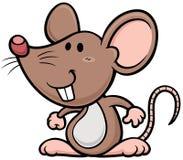 Rat. Vector illustration of cartoon rat Stock Photography