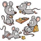 Rat. Vector illustration of Cartoon rat Royalty Free Stock Photo