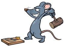 Rat. Vector illustration of cartoon rat Royalty Free Stock Images