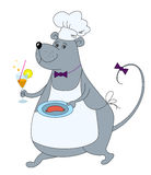Rat-waiter Stock Image