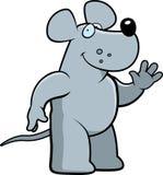 Rat Waving vector illustration